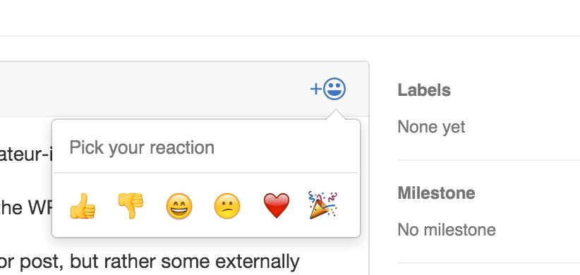 Github Reactions